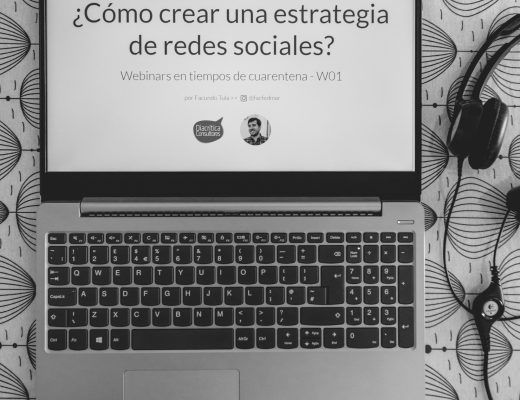Webinar ¿Cómo crear una estrategia de redes sociales? por Facundo Daniel Tula