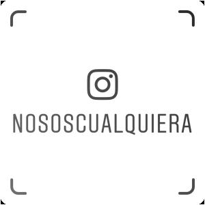 Nametag @nososcualquiera en Instagram